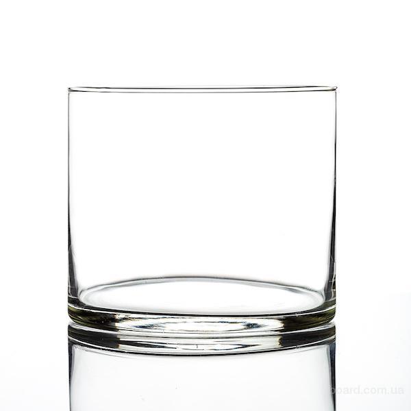 Стеклянные колбы. Стеклянные цилиндрицеские вазы.