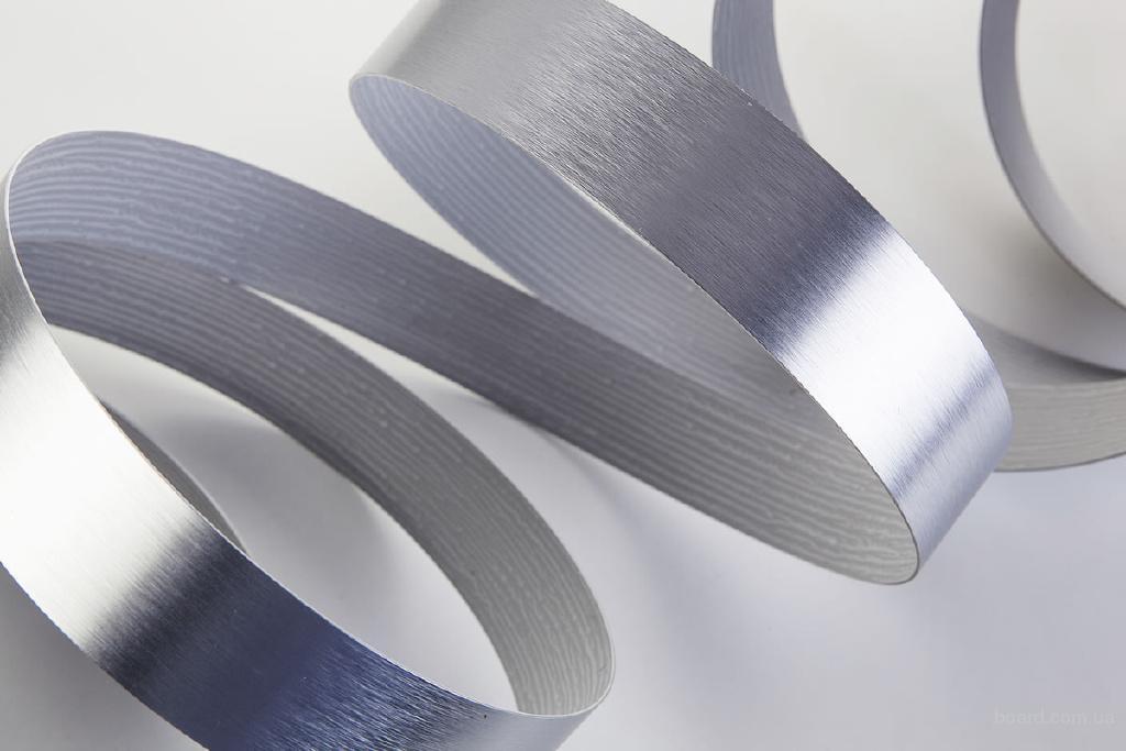 Кромка ПВХ с покрытием из алюминия, высокое качество, ТЕСЕ Турция!