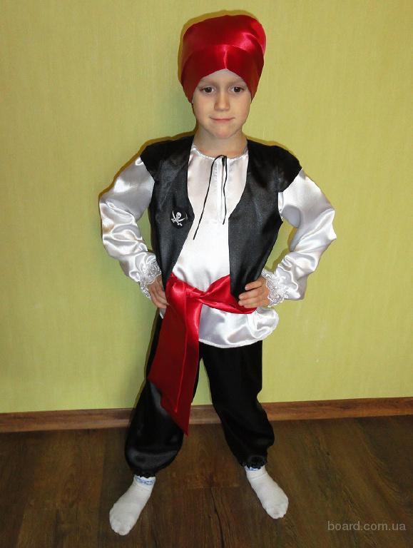 Карнавальный костюм Пирата на 4-6 лет. Прокат