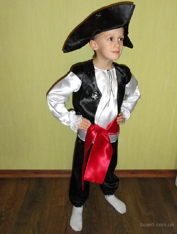 Карнавальный костюм Пират, Джек Воробей на мальчика 4-6 лет
