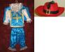Отдам напрокат костюм мушкетера на 4-7 лет.