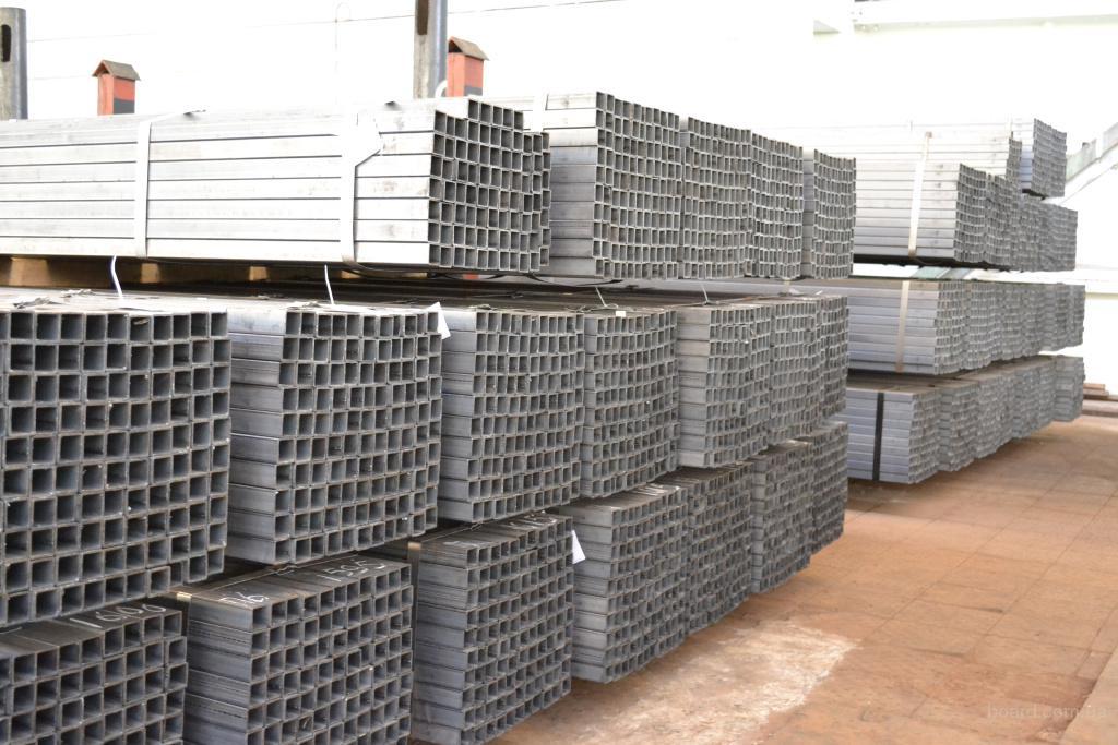 Профильные трубы 20х20-60х40х2 мм в наличии на складе