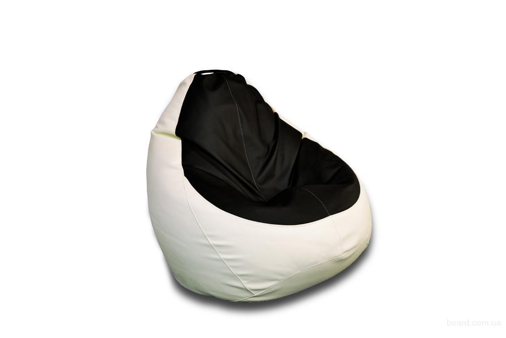 Кресло мешок из искусственной кожи Rainbow