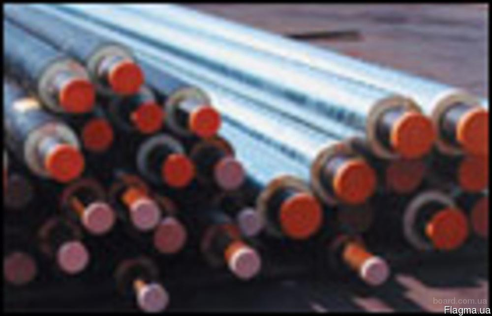 Труба сталева в ПЕ оболонці 45/110