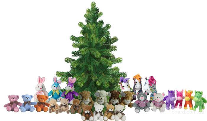 новогодние миниатюрные мягкие игрушки