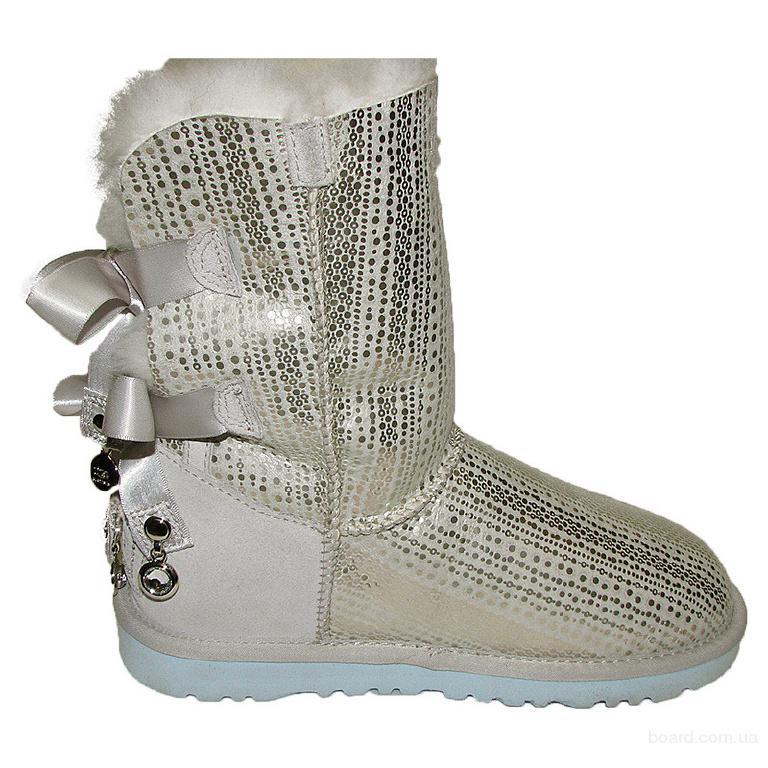 Модные угги с лентами UGG Bailey Bow в интернет-магазине модной обуви