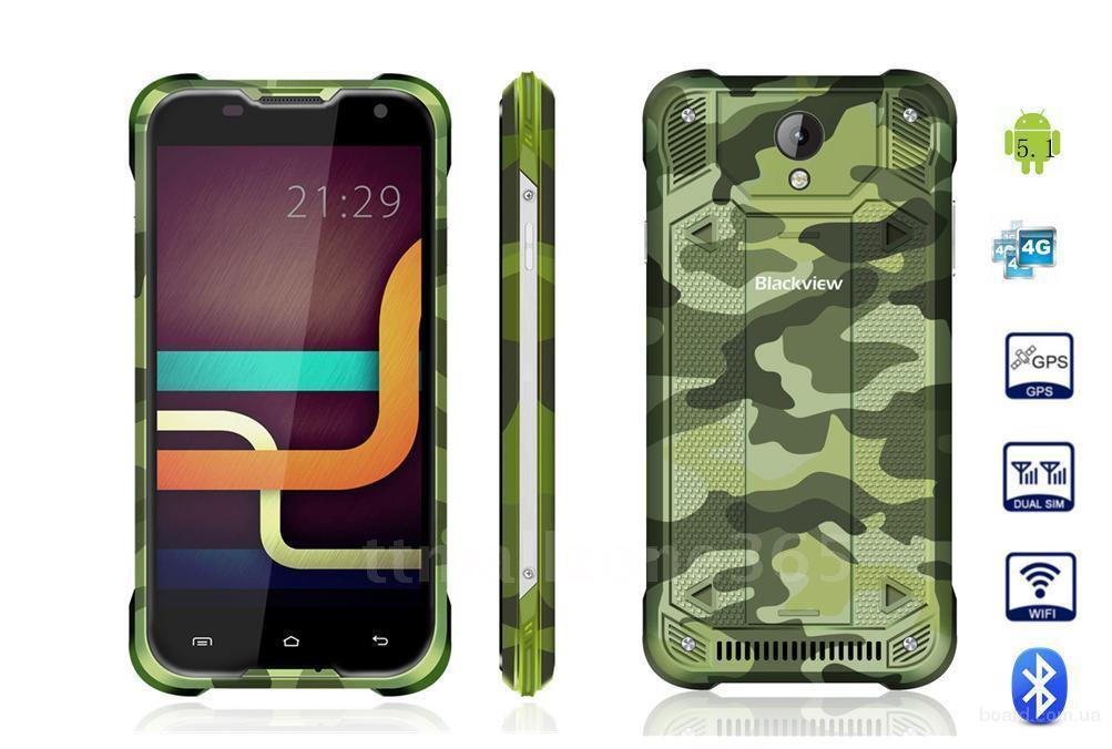 Захищений смартфон Blackview bv5000