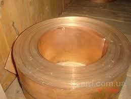 Лента бронзовая 0,05-1,5 БрОФ