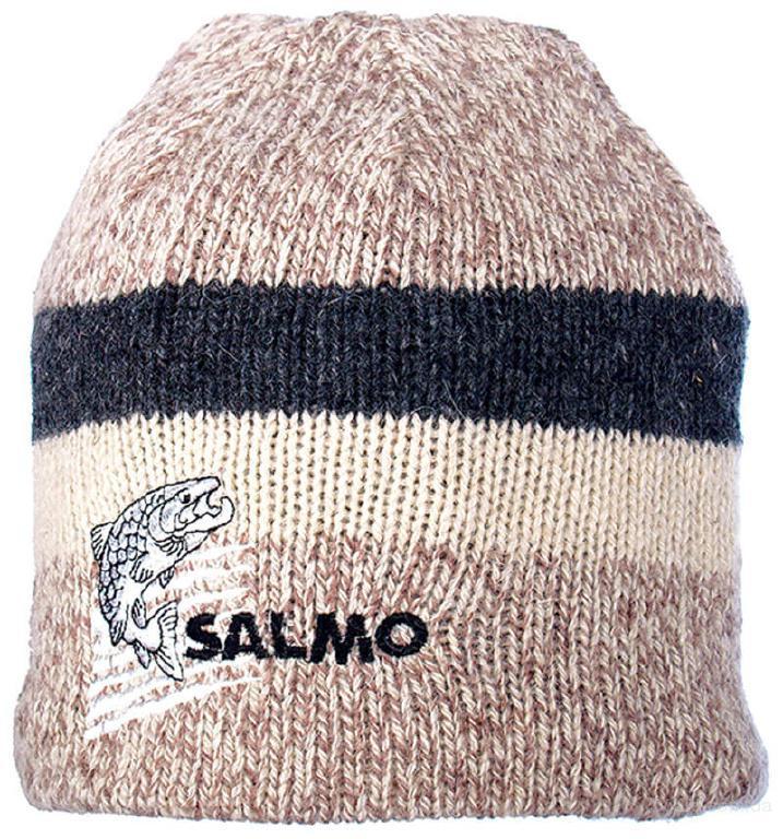Шапка Salmo Wool вязаная шерстяная, флисовая подкладка (302744)