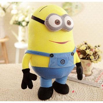 Большая мягкая игрушка Миньон Джордж - 50 см подарок для ребенка