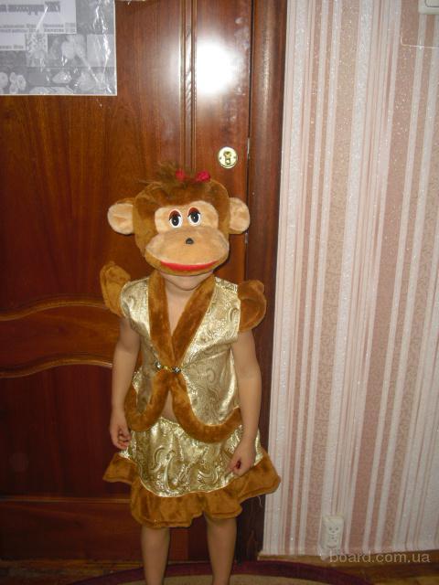 Прокат детских костюмов - обезьянка, снеговик, король, минни маус, пьеро, клоун, морозко