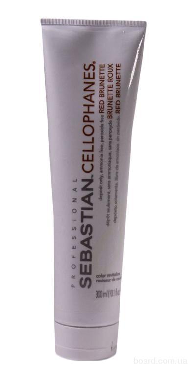 Ламинирование волос Sebastian laminates cellophanes red brunette красный брюнет-300мл-США
