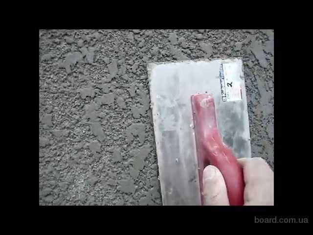 Декоративная фасадная штукатурка своими руками видео