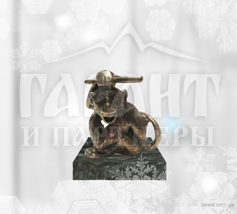 """Статуэтка-талисман """"Обезьяна - символ 2016"""" маленькая"""