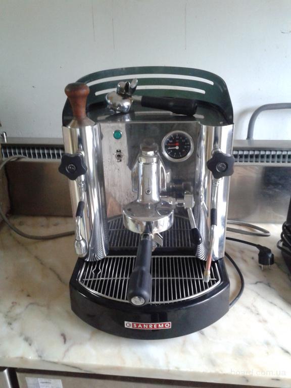 Продам кофемашину Sanremo Treviso бу