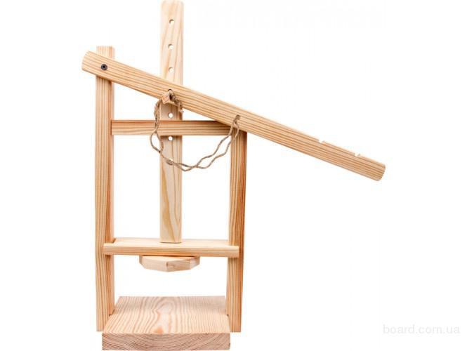 Пресс деревянный для сыра.