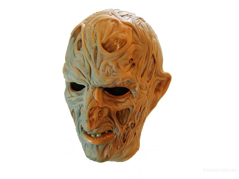Карнавальные латексные маски от производителя