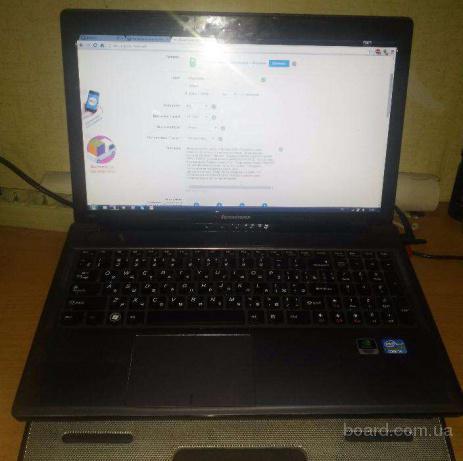 Ноутбук Lenovo IdeaPad Z580