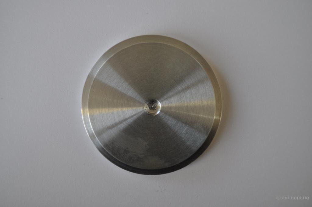 Шайба алюминиевая под клейку УФ клея D = 60 мм М8