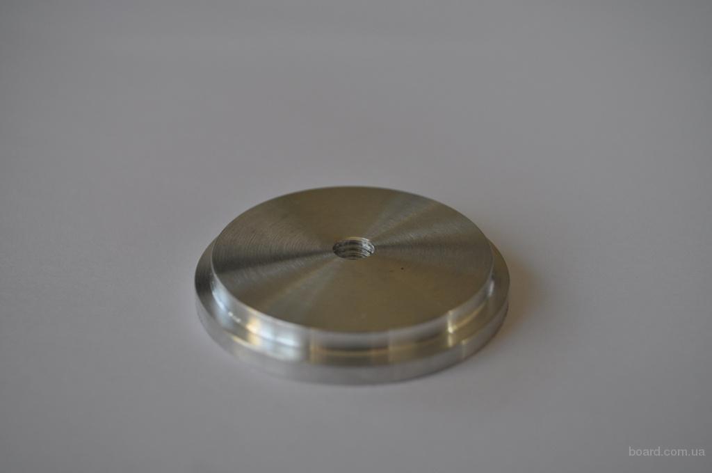Шайба алюминиевая под клейку УФ клея D = 50 мм М8