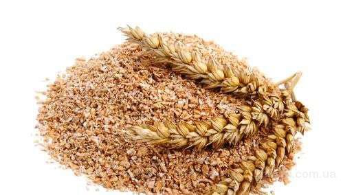 Свежие пшеничные отруби