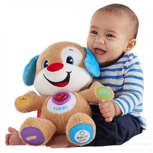 игрушки Fisher-Price двуязычная -Умный щенок, Сестра умного щенка, Для сна