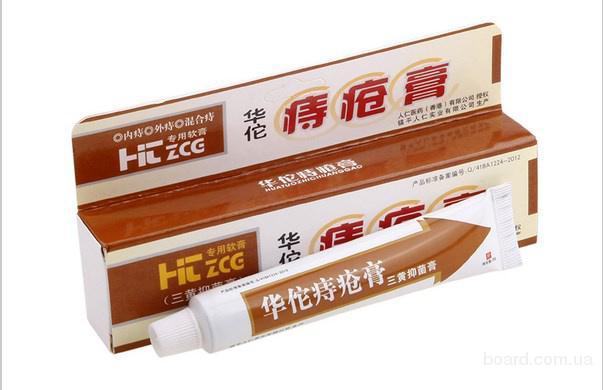 Китайская мазь от геморроя Хуато, Huatuo Piles Cream 25г