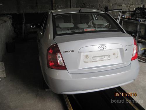 Hyundai accent, разборочный номер 96385 #3