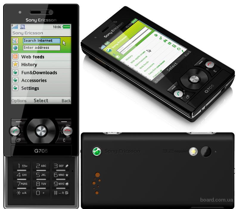 Смартфон Sony Ericsson G705 Новий
