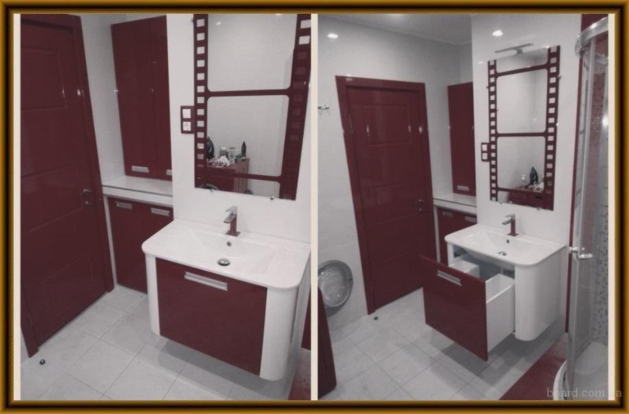 Мебель для ванной и туалетной комнаты, мебельный гарнитур для ванной