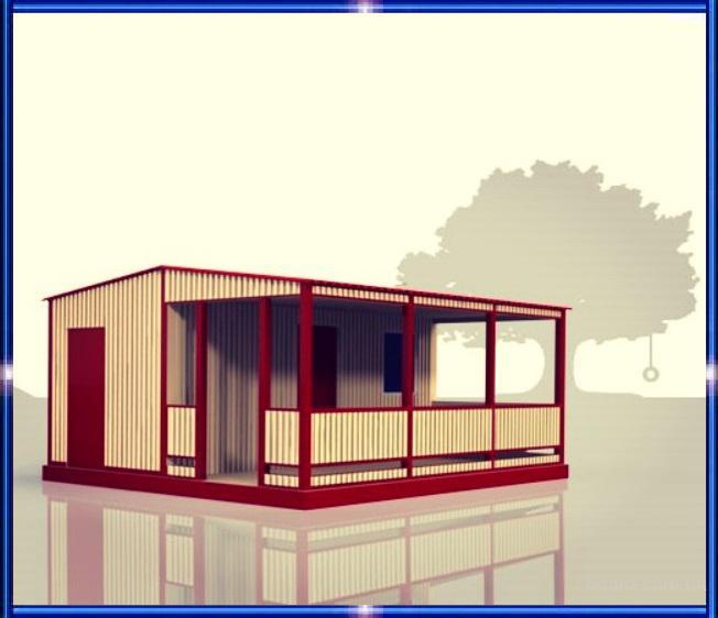 Гостевые домики, коттеджи, бунгало для баз и домов отдыха, санаториев