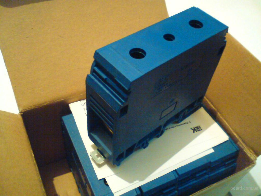 Зажим наборной ЗНИ-95мм2 синий, серый IEK