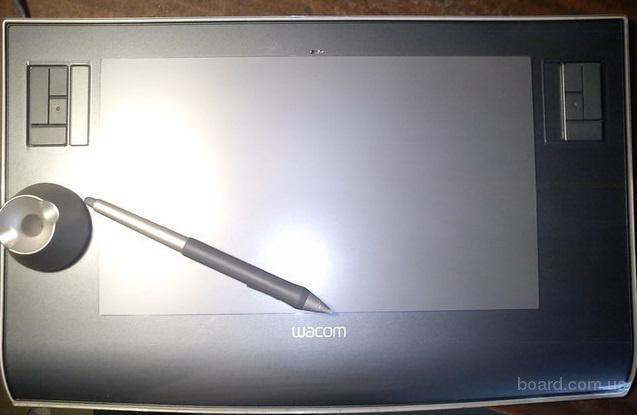 Графический планшет Wacom Intuos3 (PTZ-631) бу