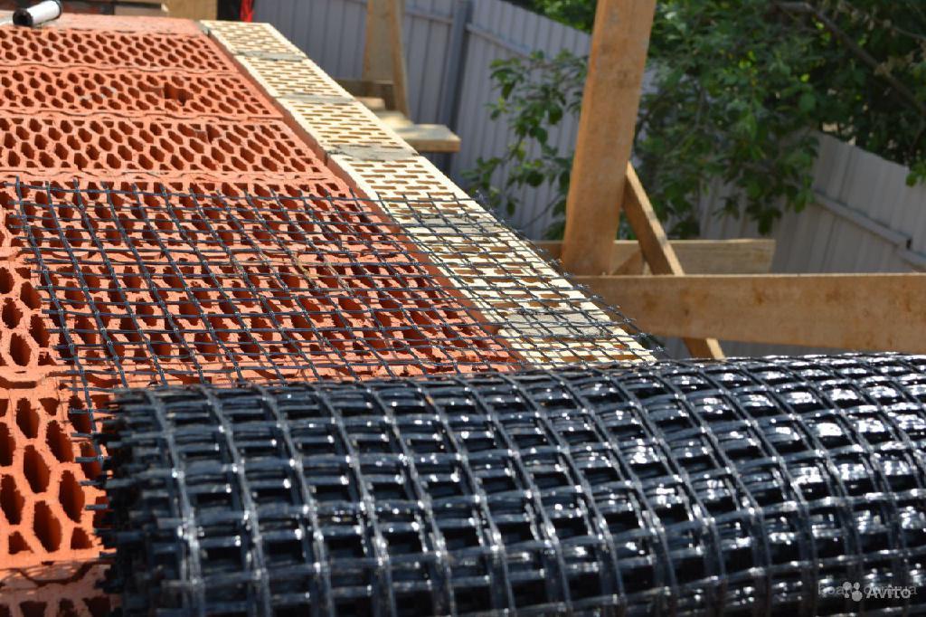 Сетка для кирпичной кладки и армирования бетона размер 50х50х4