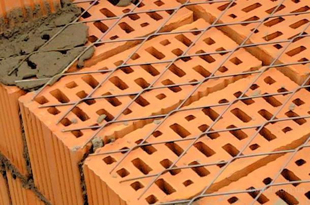 Сетка для кирпичной кладки и армирования бетона размер 150х150х4