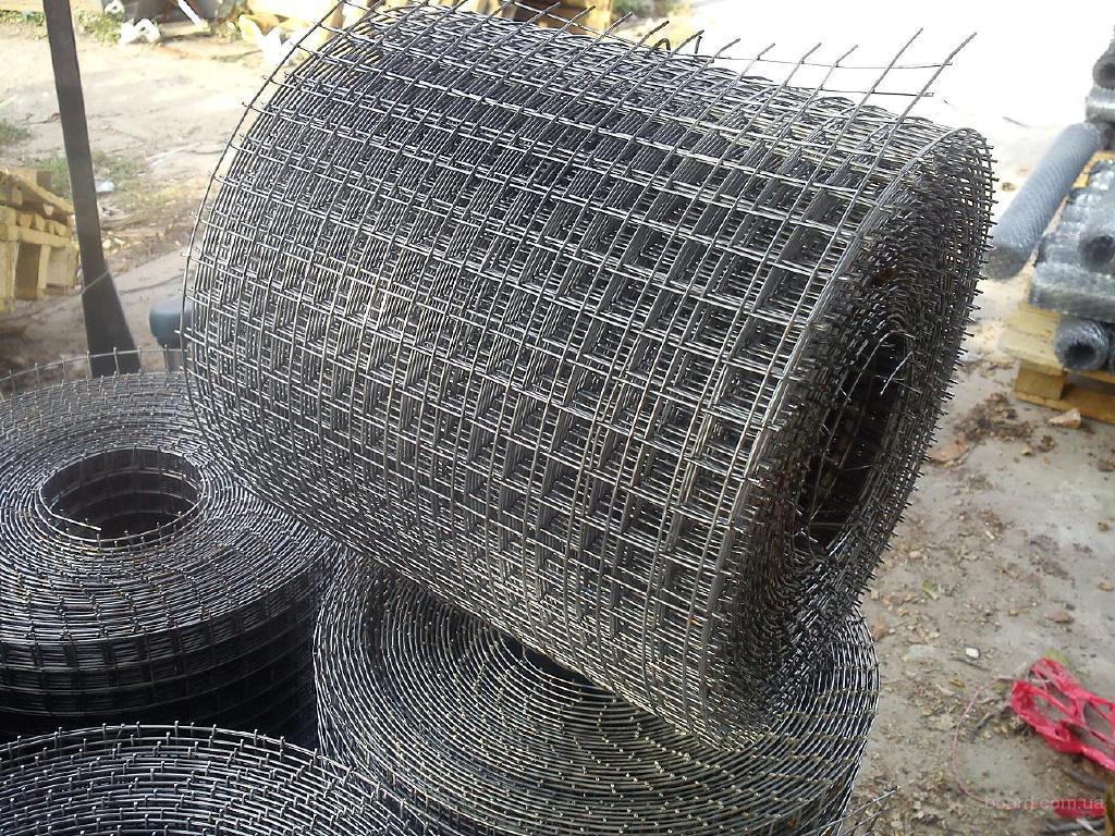 Сетка для кирпичной кладки и армирования бетона размер 200х200х4