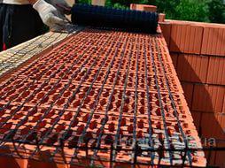 Сетка для кирпичной кладки и армирования бетона размер 200х200х5
