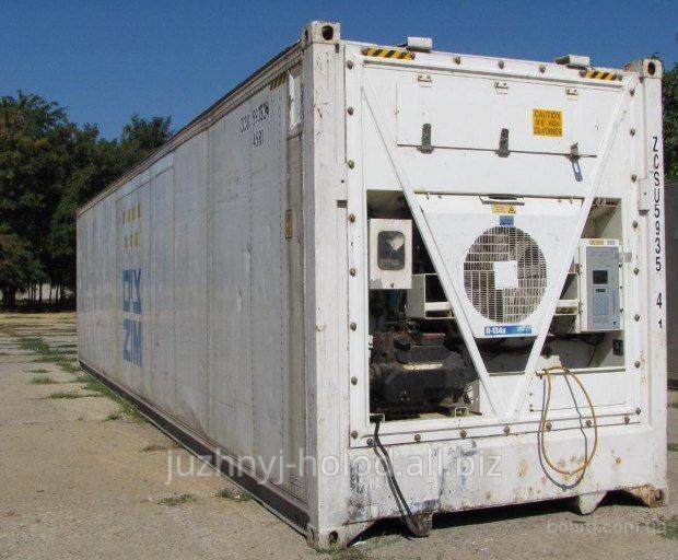 Морской рефрижераторный контейнер установки Сarrier, Thermo king