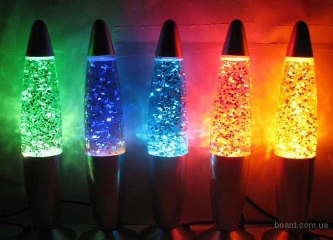 Лава лампа - отличный светильник и отличный подарок!