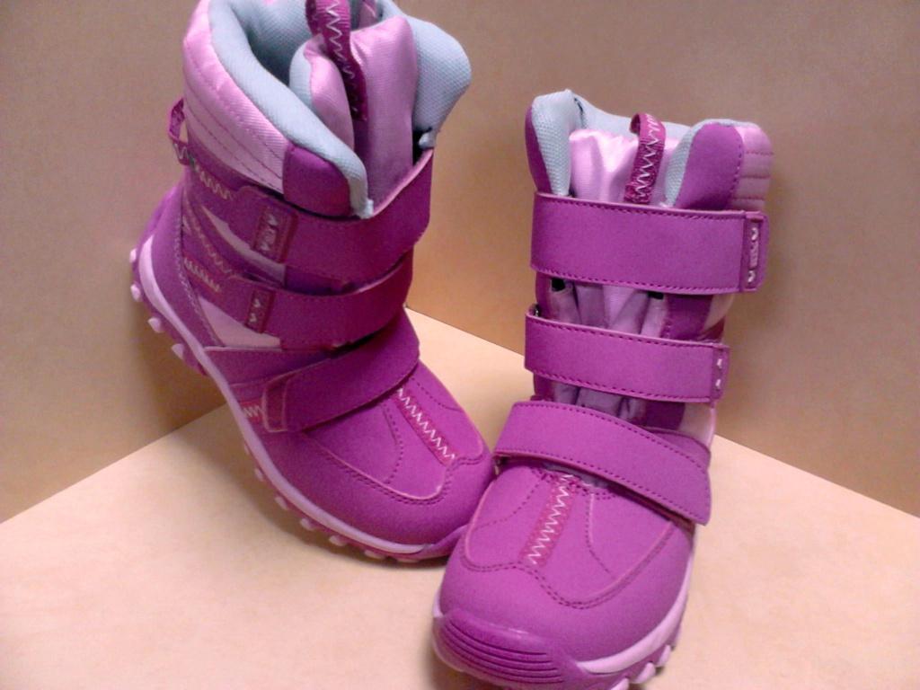Стильные высокие зимние ботинки р 27