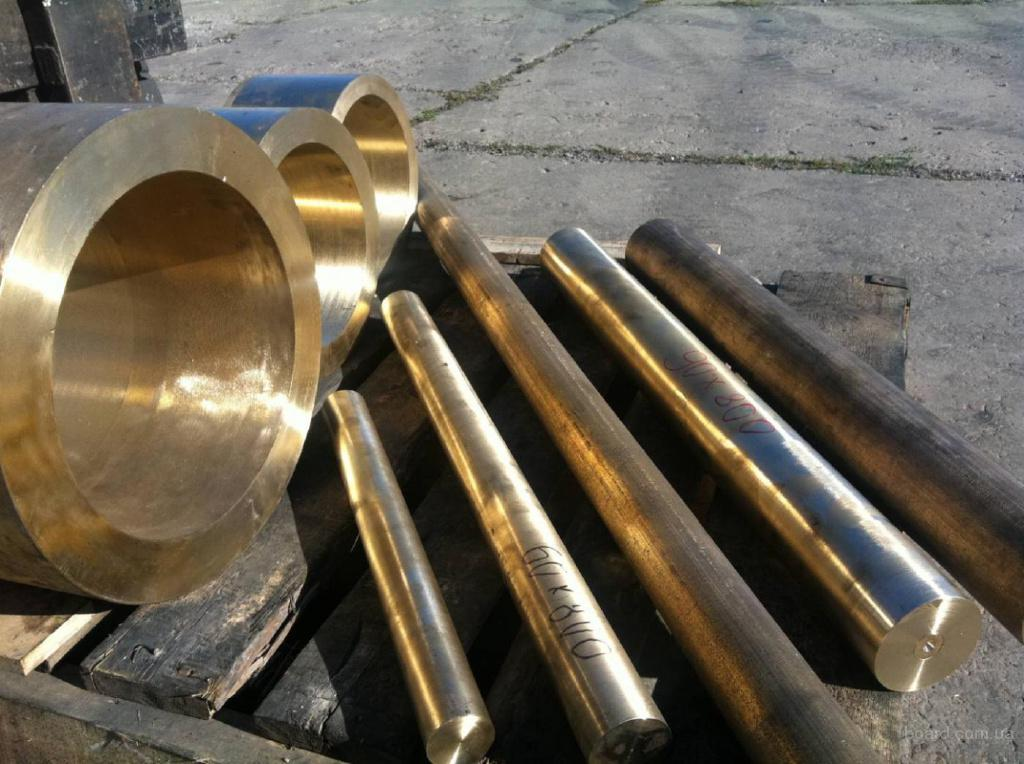 труба бронзовая 65х12,5 БрАЖМц
