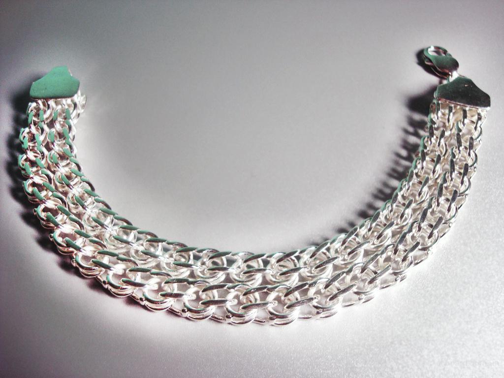 Серебряные цепочки, браслеты