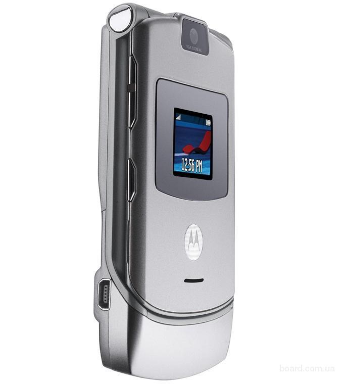 В наявності Motorola Razr V3 Silver Б.В.