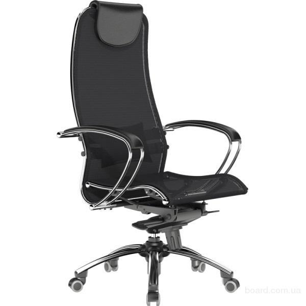 """Инновационное офисное кресло """"samurai s1 black"""""""