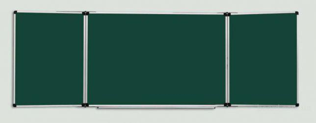 Доска школьная, трехэлементная 100x300 см, купить доску школьную, доска меловая