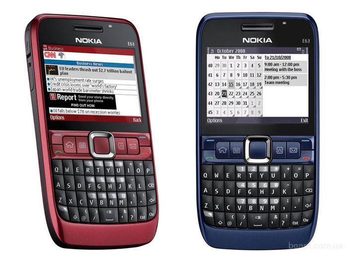 Nokia E63 Вітринна Модель