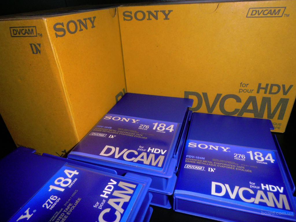 Новые профессиональные кассеты dvcam for hdv Sony PDV-184N есть 100 штук
