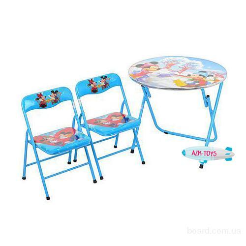 Столик детский голубой 22-13 S2 Микки Маус