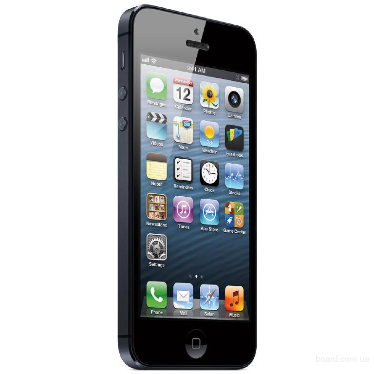 Apple iPhone 5 64Gb Black В наличии последний