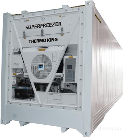 Холодильне обладнання рефрижератор 40 фут. 1999 року випуску Данія